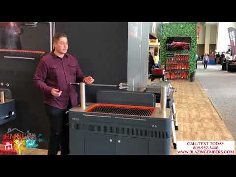 Everdure Hub Charcoal Grill Rotisserie Product Review