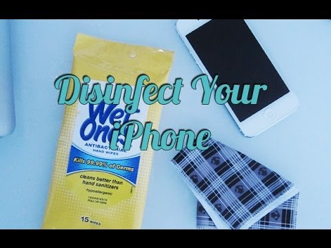 How to Safely Clean and Disinfect Your iPhone