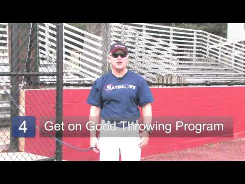 Baseball Shoulder Exercises