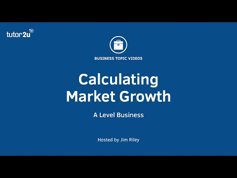 Marketing: Calculating Market Growth