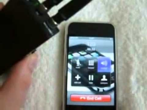 Portable Mobile Phone Jammer test