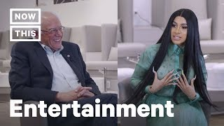 Download Cardi B Interviews Bernie Sanders on America's Biggest Issues | NowThis Video