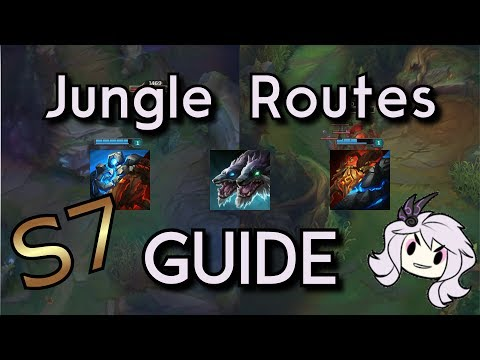 Jungle Routes for Season 7 League of Legends [Guide][Jungle][Beginner]