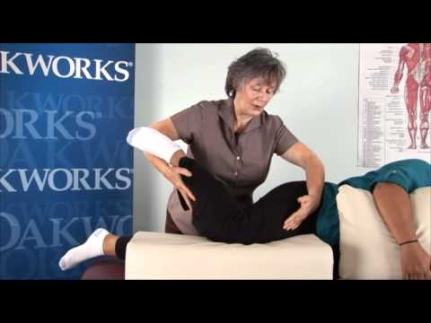 Judy Koch: Massage Techniques for Clients with Sciatic Pain using Oakworks massage equipment