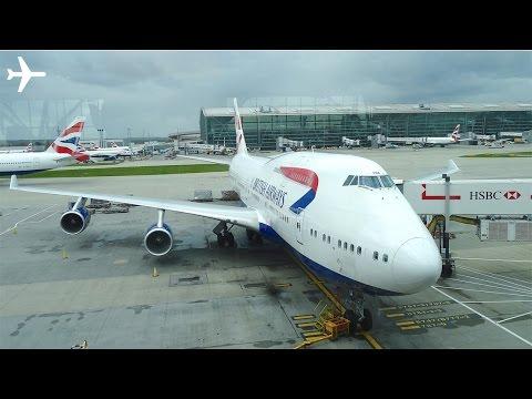 British Airways (New Economy) B747-400 Trip Report & Cabin Review - London to New York