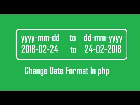 How to change date format in php (yyyymmdd to ddmmyyyy)