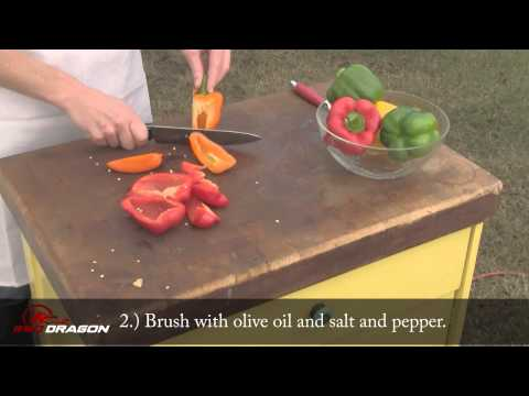 How to Grill Peppers: A BBQ Dragon Tutorial