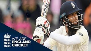 Moeen Ali Smashes Superb 67* Off Just 59 Balls - England v South Africa 4th Test Day 3 2017