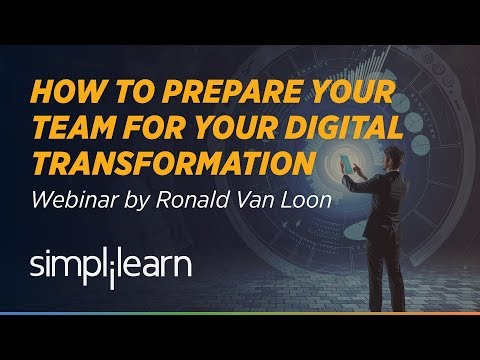 How to Prepare Your Analytics Team For Your Digital Transformation | Simplilearn Webinar