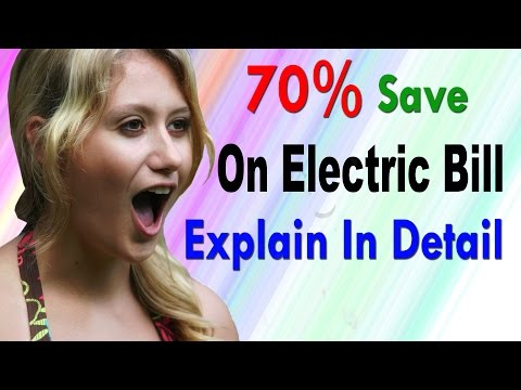 How To Save Electric Bill Up to 70% | Using DC Power | Full Explain | hindi