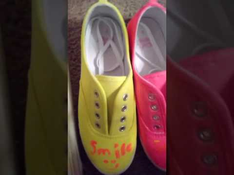 #Neon Shoes
