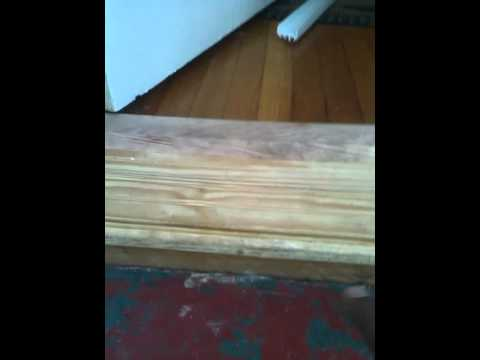 how to repair a rotten threshold