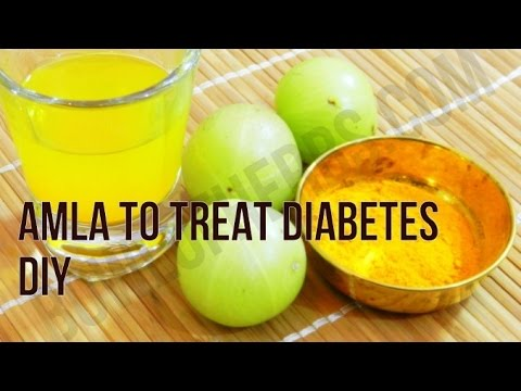 How to use Amla to treat diabetes - Home remedy