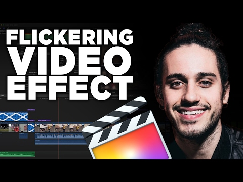 Flickering Video Effect (Russ Music Video) - Final Cut Pro X