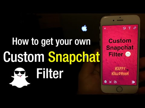 How To Get Your Own Custom Snapchat Filter (NEWEST UPDATE WORKING) 2015