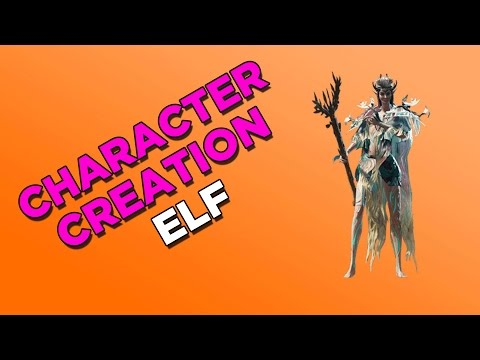 Divinity  Original Sin 2 Elf Character creation