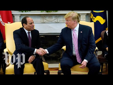 Xxx Mp4 Trump Meets With Egypt 39 S President At White House 3gp Sex