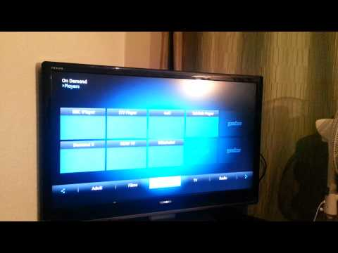 Talk Talk Youview box walk through with Sky