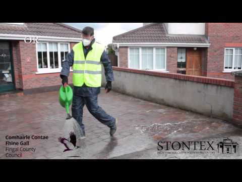 STONTEX ALL IN ONE STONE CLEANER - how to clean natural stone video