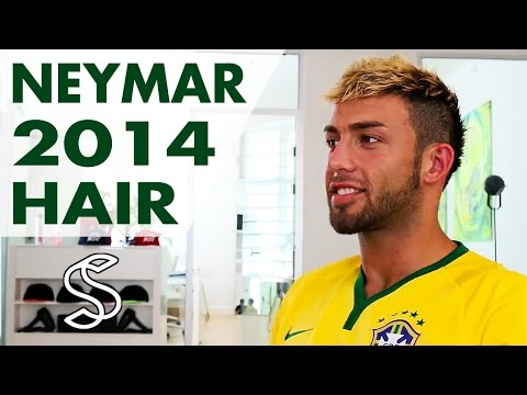 Neymar Hairstyling Tutorial - How To Style Men's Hair