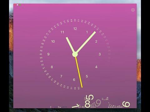 gravity clock for mac