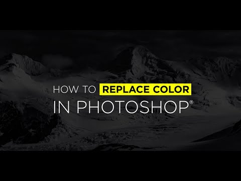 How To Replace Color in Photoshop with Ben Willmore