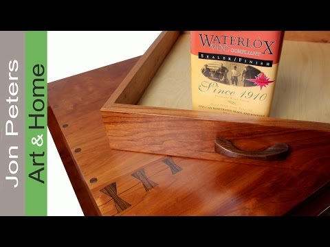 How to use Waterlox, an Easy to use Fine Furniture Finish