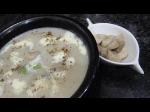 Cream Of Mushroom Soup In Tamil | Mushroom Soup In Tamil | Kalan Soup In Tamil | Gowri Samayalarai