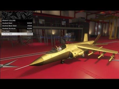 GTA 5 Smuggler's Run DLC (Customizing Pre-DLC Pegasus Aircrafts in Hangar)