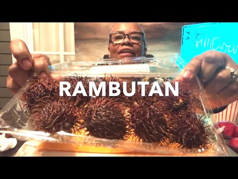 WHAT IS  RAMBUTAN -  THE HAIRY FRUIT - PART ONE