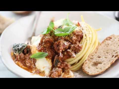 20 Minute Heirloom Tomato Basil Chicken Parmesan Bolognese