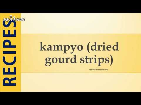 kampyo dried gourd strips
