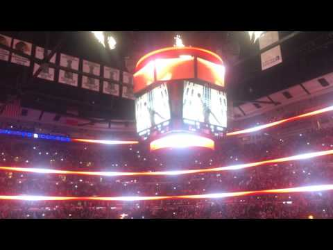 Chicago Bulls Intro Live From Stadium - CRAZY CROWD ENERGY