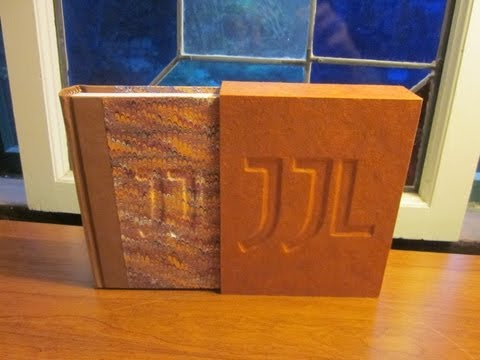 How to Make a Traditionally-Bound Book with Slipcase Without Special Equipment Pt. 1
