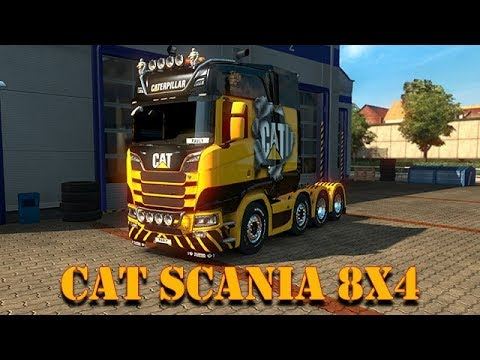 How to Skin the Scania 8x4 with Pauly