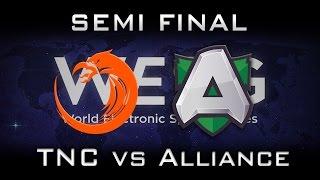 TNC vs Alliance 400k💲Semi Final WESG Highlights Dota 2
