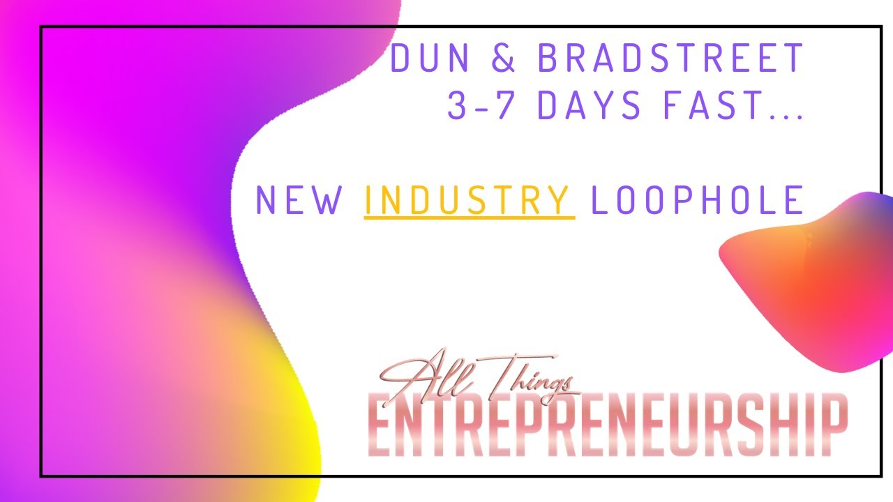 DUNS # IN 3-5 DAYS LOOPHOLE | BUSINESS CREDIT