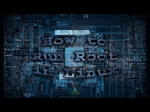 How to run root in Linux