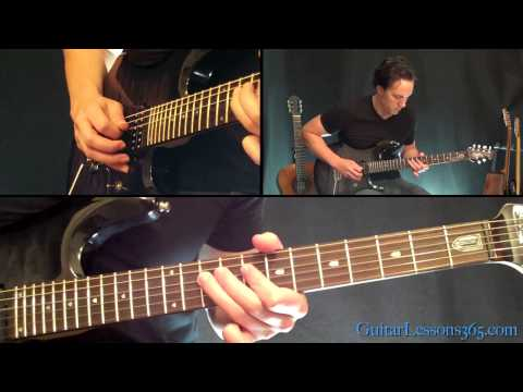 Surfing With The Alien Guitar Lesson - Joe Satriani - Famous Riffs