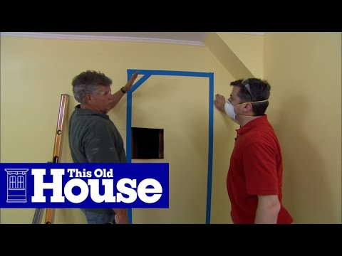 How to Create an Interior Door Opening - This Old House