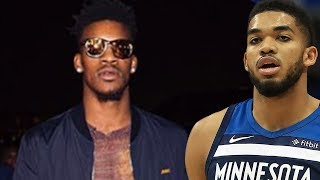 Jimmy Butler SHADES Karl Anthony Towns and Teammates On Instagram MELTDOWN!
