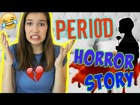 MY PERIOD HORROR STORY! | AWKWARD EMBARRASSING STORY TIME