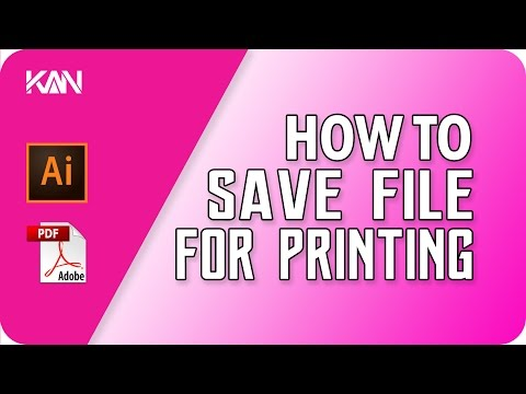 How to Save file / pdf for Printing