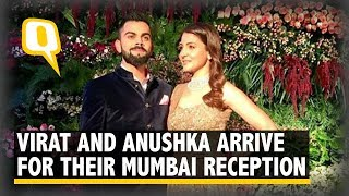 Virat and Anushka Arrive for Their Wedding Reception in Mumbai   The Quint