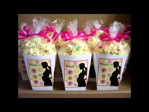Baby shower favor decor ideas