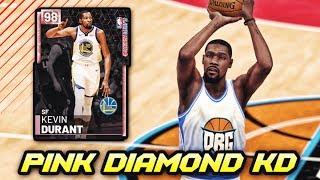 1b5b173e2094 PINK DIAMOND 98 OVERALL PLAYOFFS KEVIN DURANT!!  HOF LIMITLESS