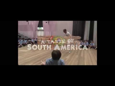 South America Creativity Week 2014 - Dartford Grammar School