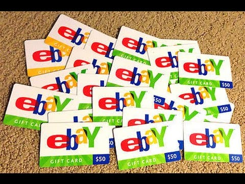 How to redeem a ebay Giftcard!