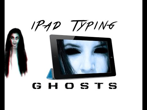 iPad Ghost writing typing by itself Phantom Typing FIX