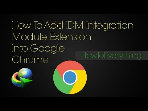 How to fix IDM extension problem in chrome 2018